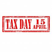 Tax Day-stamp