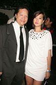 Edwin Santos and Sara Park  at the 'Ten Nights Of Dreams' Afterparty Hosted By Cinema Epoch. Kyoto G