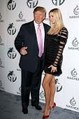 Donald Trump and Ivanka Trump  at a party to introduce the Trump Tower Dubai. The Tar Estate, Bel Air, CA. 08-23-08