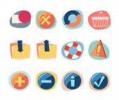 Web Icons Retro Revival Collection - Set 8