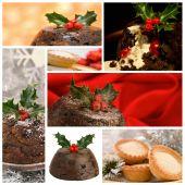 Christmas Food Montage