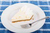 Fresh Key Lime Pie Slice