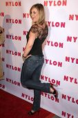Bonnie Somerville  at the NYLON Magazine Party Celebrating the Launch of their TV issue. The Roosevelt Hotel, Hollywood, CA. 09-04-08