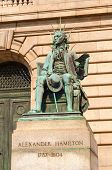 Hamilton Statue
