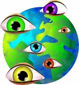 Die Augen des Herrn