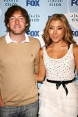 Fran Kranz and Dichen Lachman  at the Fox Eco Casino Party. London West Rooftop, Hollywood, CA. 09-08-08