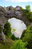 Arch Rock Close-up, Mackinac Island