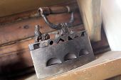 Antique Original Vintage Cast Flat Iron