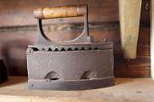 Vintage Charcoal Flat Iron