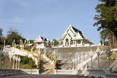 White Thai Buddhist Temple