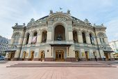 National Opera And Ballet Theatre In Kyiv, Ukraine