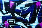 MELBOURNE, AUSTRALIA - JUNE 20 2014: Street art by unidentified artist. Melbourne's graffiti managem