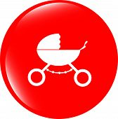 Stroller Icon In Mode
