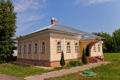 Wooden House (circa Xix C.)  In Dmitrov Kremlin, Russia