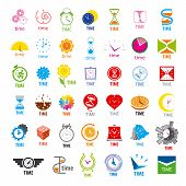 Biggest Collection Of Vector Icons Time
