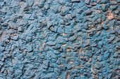 Abstract blue wall stone grunge texture