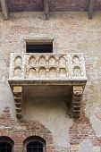 picture of juliet  - The famous balcony of Romeo and Juliet in Verona Italy - JPG