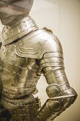Security Medieval iron armor, Spanish armada