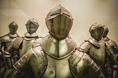 Antique Medieval iron armor, Spanish armada