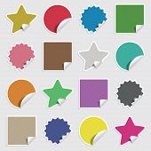 Blank Stickers