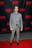 NEW YORK-MAR 13: Actor Chris Henry Coffey attends the 'Rocky' Broadway opening night at the Winter G