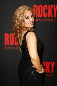 NEW YORK-MAR 13: Actress Orfeh attends the 'Rocky' Broadway opening night after party at Roseland Ba