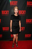 NEW YORK-MAR 13: Choreographer Kelly Devine attends the 'Rocky' Broadway opening night after party a