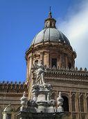 Cathedral Maria Santissima Assuanta of Palermo in Sicily