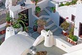 Santorini, Traditional Greek House