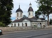 pic of nicholas  - The Orthodox Church of St Nicholas was erected in 1789 by a command of Catherine the Great to replace an older wooden church - JPG