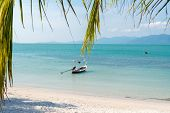 View of Lipanoi beach at Koh Samui Thailand