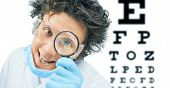 Funny Doctor Optometrist