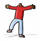 cartoon male gesturing body (mix and match cartoons or add own photo)