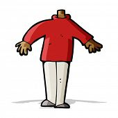cartoon male body (mix and match cartoons or add own photos)