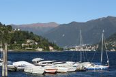 Italy, Cernobbio (CO): the harbour