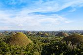 stock photo of chocolate hills  - Beautiful - JPG