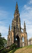 Scott monument in Edinburgh, Scotland, United Kingdom