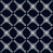 Abstract background. Vector abstract seamless geometric black an