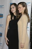LOS ANGELES - DEC 4:  Haile Steinfeld, Hilary Swank at the The Actors Fund�?�¢??s Looking Ahead Awards at the Taglyan Complex on December 4, 2014 in Los Angeles, CA