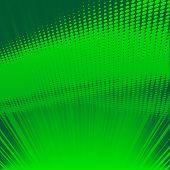 green shine halftone background