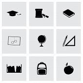Vector study icon set