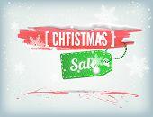 Christmass inky banner