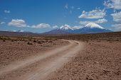 Volcanoes on the Altiplano
