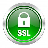 ssl icon, green button