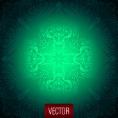 Vector abstract background. Islamic pattern, oriental pattern, v