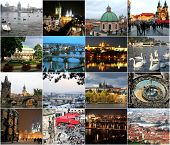 Landmarks Of Prague In Different Seasons