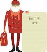 Santa Claus Hipster