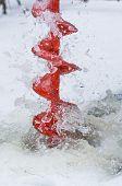 Ice-drill