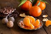 Chocolate, Truffles And Tangerines