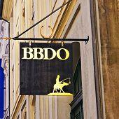 Signplate Of Bbdo Agency In Copenhagen